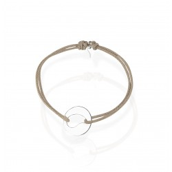 Vrouwen drop medaille armband
