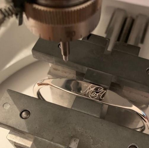 Engraving workshop in Belgium